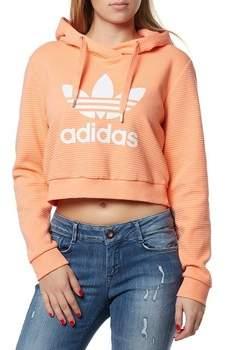 Sweatshirt Originals Trefoil Damen Kapuzenpulli Lachs