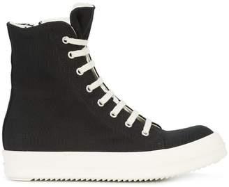 Rick Owens hi top ramone sneaker