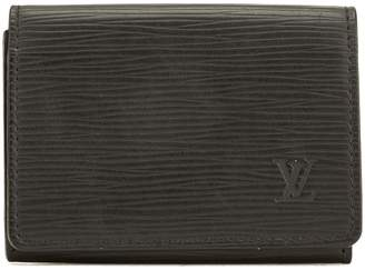 Louis Vuitton Noir Epi Leather Business Card Holder (Pre Owned)