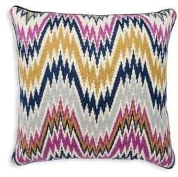 Jonathan Adler Worth Avenue Bargello Wool Pillow
