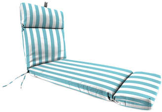 Beachcrest Home Striped Indoor/Outdoor Chaise Lounge Cushion