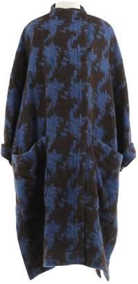 Acne Studios Blue Wool Coats