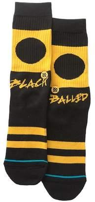 Stance Black Balled Classic Crew Socks