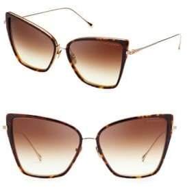Dita Eyewear Women's Sunbird 59MM Cateye Sunglasses - Gold