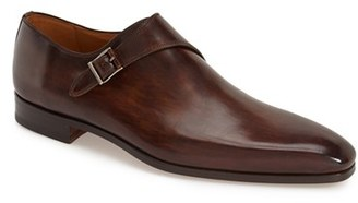 Men's Magnanni 'Efren' Monk Strap Loafer $435 thestylecure.com