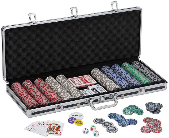 Fat Cat Bling 13.5 Grams 500-ct. Poker Chip Set