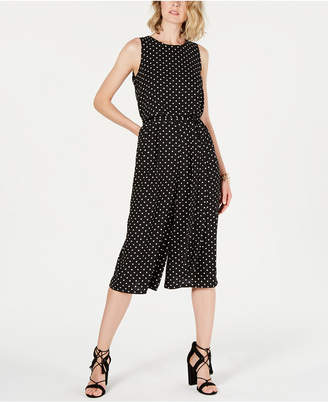 70f19df21dd Vince Camuto Petite Printed Cropped Jumpsuit