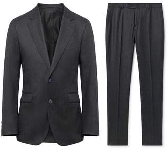 Hackett Puppytooth Wool Flannel Suit