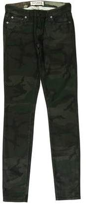 Elizabeth and James Camouflage Skinny Jeans