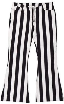 Marques Almeida Marques' Almeida Low-Rise Striped Pants