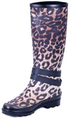 Couture Forever Young Women Rubber Rain Boots 7 US