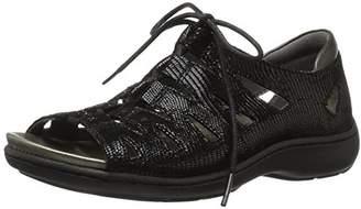 Aravon Women's Bromly Ghillie Flat Sandal,7 D US