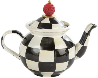 Mackenzie Childs MacKenzie-Childs - Courtly Check Tea For Me Pot