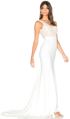 Lovers + Friends x REVOLVE Gallery Gown $498 thestylecure.com