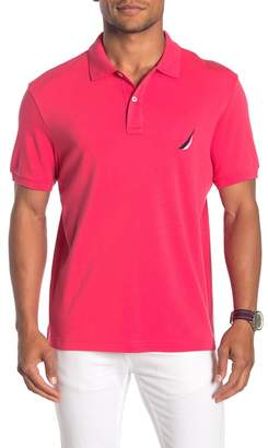 Nautica Short Sleeve Knit Polo Shirt
