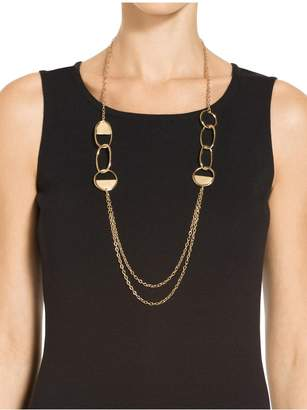St. John Metal Strand Necklace