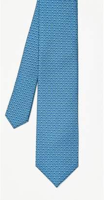 J.Mclaughlin Silk Tie in Bridle