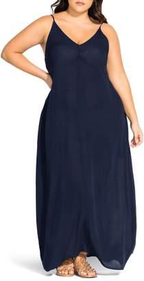 City Chic Summer Love Maxi Dress