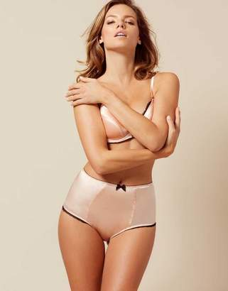 Agent Provocateur Felinda Big Brief Nude And Black