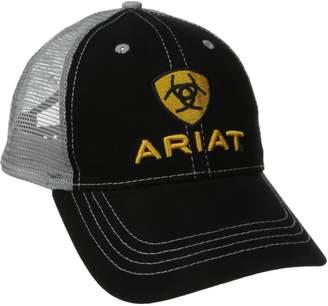 Ariat Men's Front Gray Mesh Hat