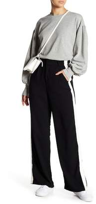 Romeo & Juliet Couture Wide Leg Side Stripe Trousers