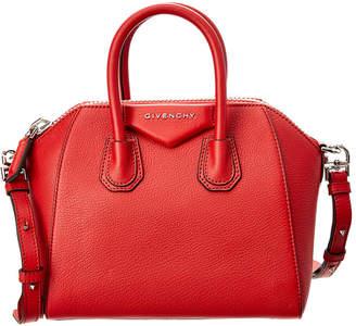 Givenchy Antigona Mini Sugar Leather Satchel