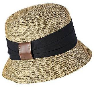 Merona; Women's Straw Cloche Hat with Black Sash - Tan - Merona; $12.99 thestylecure.com