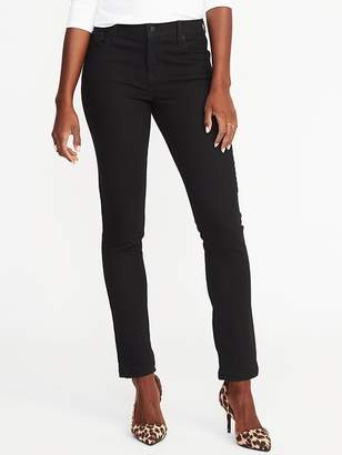 Old Navy Mid-Rise Curvy Straight Jeans for Women
