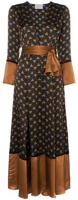 Bumble Bee We Are Leone Contrast Maxi Cardigan