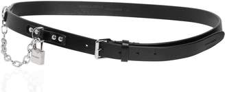 DSQUARED2 25mm Leather Belt W/ Lock