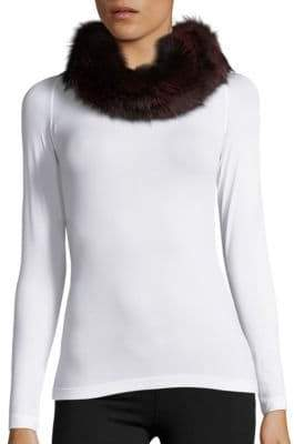 Surell Convertible Fox Fur Headband
