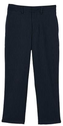 MANGO Striped suit trousers