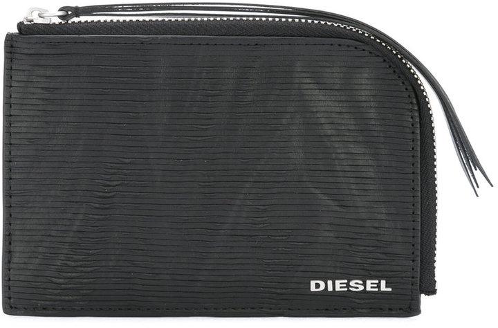 DieselDiesel textured zipped wallet