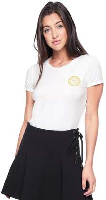 Juicy Couture Royal Emblem Classic Short Sleeve Tee
