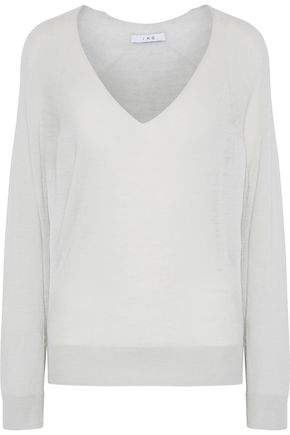Iro Octop Wool And Cashmere-Blend Top