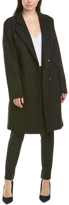 Escada Sport Escada Wool-Blend Trench Coat
