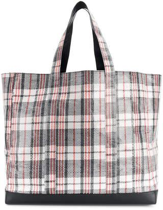 Helmut Lang laundry tote bag