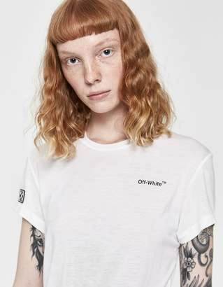 Off-White Off White Fitted Tee