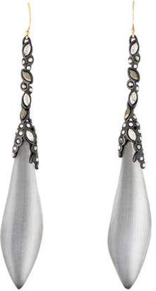 Alexis Bittar Lucite & Crystal Drop Earrings