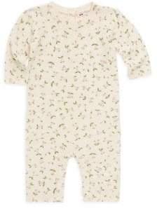 Bonpoint Baby Girl's Cherry-Print Wool Romper