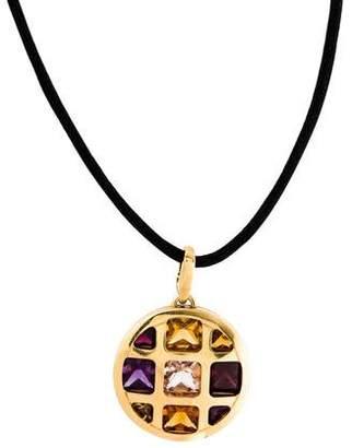 Cartier 18K Pasha Pendant Necklace