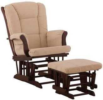 Stork Craft Tuscany Glider Rocking Chair & Ottoman