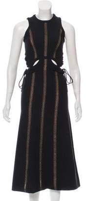 Self-Portrait Cutout Midi Dress w/ Tags