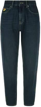 Mira Mikati Embroidered Straight Jeans