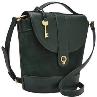 Fossil Clara Bucket Bag Handbags Spruce