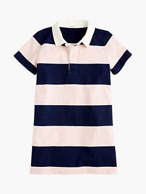 J.Crew crewcuts by Girls' Steph Rugby Dress, Blue