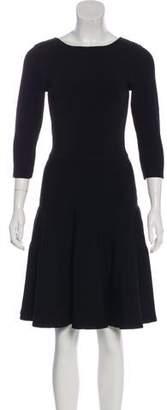 Issa Long Sleeve Knee-Length Dress