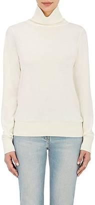 The Row Women's Caya Merino Wool-Cashmere Turtleneck Sweater $1,190 thestylecure.com