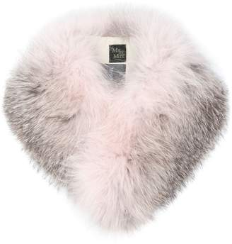 Mr & Mrs Italy two-tone fur collar