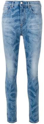 Marcelo Burlon County of Milan Snake skinny-fit jeans